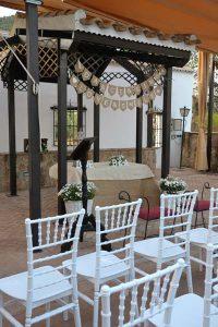 Altarcillo para bodas Tiffany