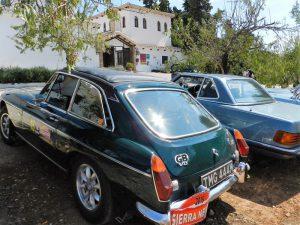 Concentración de coches antiguos