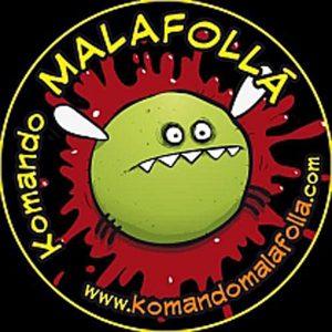 Logotipo del komando malafollá