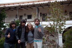 Lori Meyers en el Hotel Huerta Nazarí