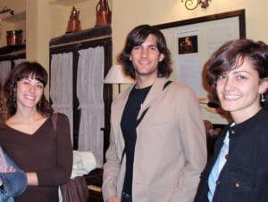 Fran Dieli en el Salón de Huerta Nazarí